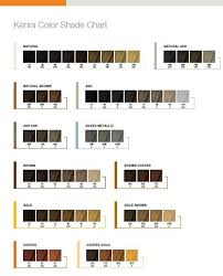 Kenra Color Chart Kenra Color Shade Chart In 2019 Kenra Hair Color Kenra