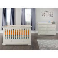 white furniture nursery. Addison Euro Crib 3-piece Nursery Collection White Furniture