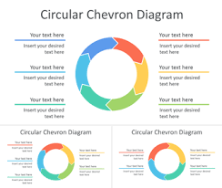 For Powerpoint Circular Chevron Diagram For Powerpoint Templateswise Com