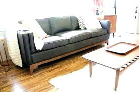 Article Furniture Review Modern Reviews Bright Oxford Brown Sofa Row Credit  Card Couch Volu Furn I39