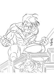 Nightwing Kleurplaten Inspirational Coloring Pages On For Adults
