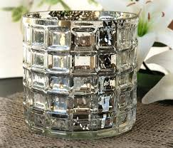 silver mercury glass silver mercury glass silver mercury glass compote