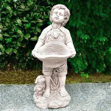 asian garden statues. Statues For Garden Boy And His Dog Statue Ornament Asian Melbourne . S