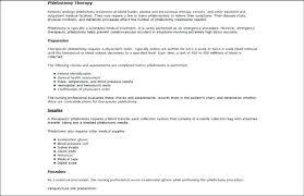 Bunch Ideas Of Phlebotomy Resume Great Sample Phlebotomist Resume