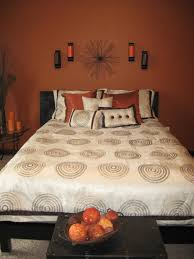 Burnt orange wall color for bedroom Home Decor