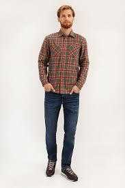 <b>Верхняя сорочка</b> мужская, цвет серый, артикул: A19-22025_2091 ...