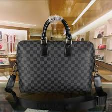 whole 1 1 quality lv men bag real leather wallet louis vuitton laptop bag 4