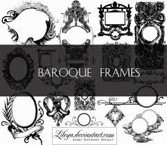 free photoshop brushes brushlovers com House Plan Photoshop Brushes baroque frames photoshop brush house design photoshop brushes
