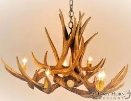 endearing moose antler chandelier applied to your residence design lighting faux antler celier lighting