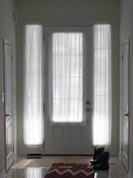 Front Door Window Coverings Sidelight Curtains Sidelight Panel Curtains Sidelight Window