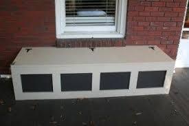 porch storage bench.  Bench Craftsman Storage Bench Intended Porch A