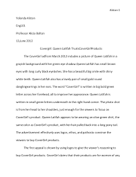 commercial ad analysis essay analysis of commercial advertisement essay examples bartleby