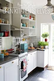 Open Kitchen Shelves Yes Makes You Wanna Keep Them Clean And Open Shelf Kitchen Cabinet Ideas