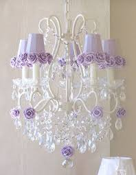 captivating girls room chandelier baby nursery chandelier white iron with crystal chandeliers and purple