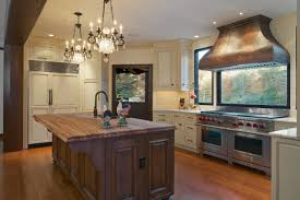 Elegant Country Kitchen With Antique White Cabinets Hgtv