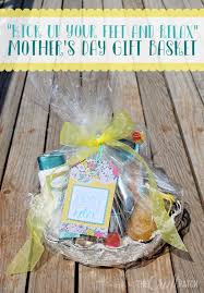 my mom does so much for my whole family that this year for mother s day i m going to tell her to kick up her feet and relax i put together a little gift