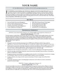 Accounts Payable Resume Example Examples Of Resumes Manager Template