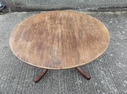 round oak dining table large round oak antique table revival extending round oak dining table to