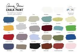 Annie Sloan Chalk Paint Color Chart Chalk Paint Color Card In 2019 Annie Sloan Chalk Paint