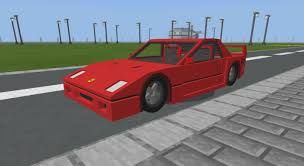 If you do, this map is going to be a good choice for you. Ferrari F40 Addon Minecraft Pe Mods Addons