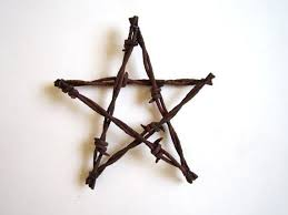 3 barbed wire star ornaments rustic wedding decor wedding
