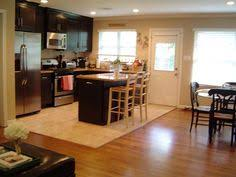 image result for front door opens to kitchen
