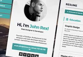 Web Resume Template Cool 48 Examples Of Beautiful ResumeCV Web Templates