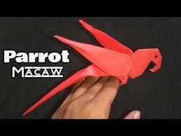 Cara membuat pesawat kertas burung terbang lama, mudah dan simple. Cara Membuat Origami Burung Macaw Parrot Origami Hewan Lagu Mp3 Mp3 Dragon