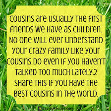 Top 40 Cousin Quotes Sayings SayingImages Gorgeous Best Cousins Quote