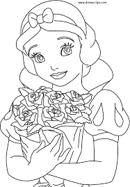 Small Picture disney coloring pages printable Disney Princess Snow White