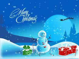 Christmas Snowman Wallpaper - Free ...