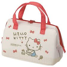 pouch type lunch bag character sanrio pouch bag lunch lunch child kids kindergarten primary child holiday making outing excursion athletic meet