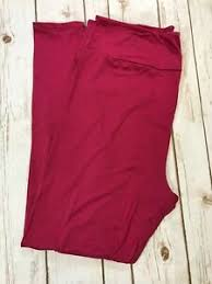 Tc2 Size Chart Details About Tc2 Lularoe Leggings Solid Magenta Cherries Jubilee Nwt Tall Curvy 2 257510
