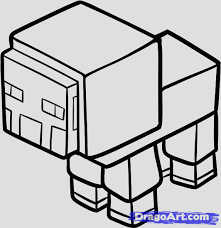 Small Picture How To Draw A Minecraft Pig Maxresdefaultjpg Coloring Pages