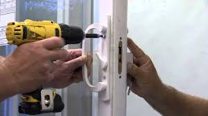 Remove a Stuck Key from a Patio Door - YouTube