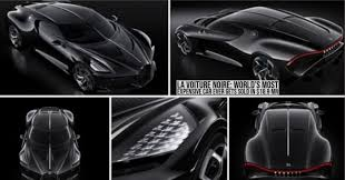 He also earned an estimated $130 million last year, making the cost of la voiture noire 14.5. La Voiture Noire World S Most Expensive Car Ever Gets Sold In 18 9 Mn Stillunfold
