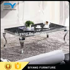 silver coffee table furniture adjule height on with storage