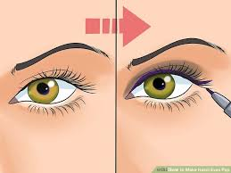 image led make hazel eyes pop step 1