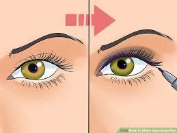 image led make hazel eyes pop step 1