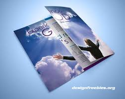 Free Indesign Templates Christian Church And Travel Agency