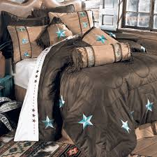 western bedding king size turquoise laredo bed set lone star