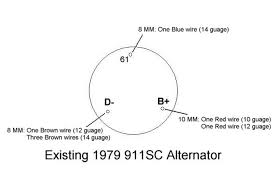 alternator wiring advice pelican parts technical bbs and below is a pic of the new alternator