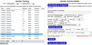 A Fitness Plan Information Outpost Free Exercise Log And Fitness Planning Tool