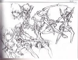 Art Of Kill La Kill Vol 2 Collection Of Initial Concept Design Art
