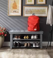 Shoe organizer furniture Fancy Convenience Concepts Designs4comfort Utility Mudroom Bench New York Magazine 18 Best Shoe Organizers 2018