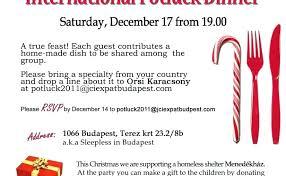 Potluck Christmas Party Invitation Wording Potluck Party Invitation
