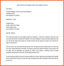 end of lease letter to tenant from landlord free notice of lease termination letter from landlord to tenant example