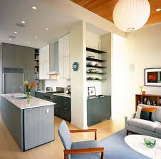 kitchen room. dry kitchen design along with room living