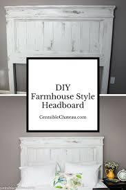 Headboards Diy Best 25 Farmhouse Headboards Ideas On Pinterest Farm House