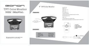 eonon uk instruction manual of car dvd monitor gps e1031 instruction manual en 329kb open